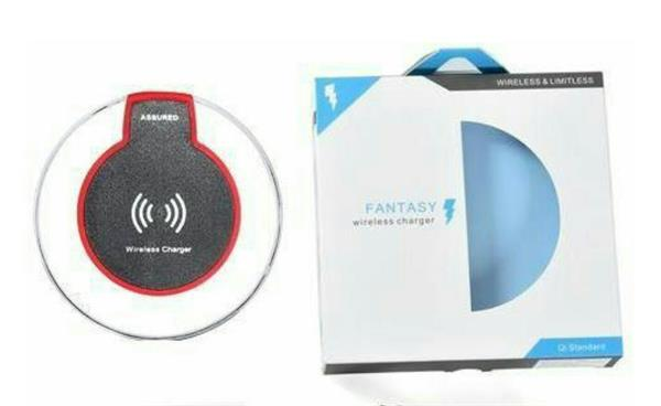 Used 2 Piece Fantasy Wireless Charger For All Qi Certified devices. Brand New in Dubai, UAE