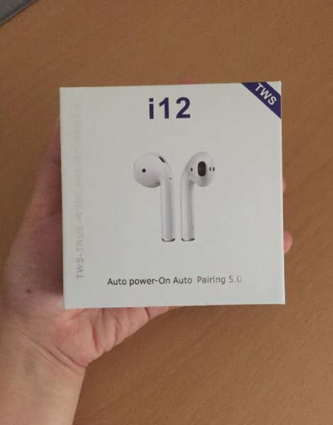 Used Wireless Airpods box pack i12 in Dubai, UAE