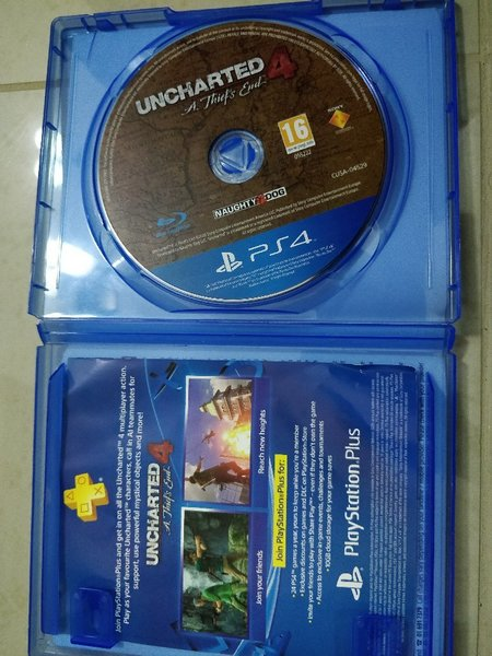Used PS4 game - unchartered in Dubai, UAE