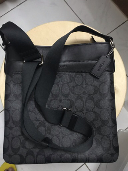 Used Authentic Coach Flat sling bag in Dubai, UAE