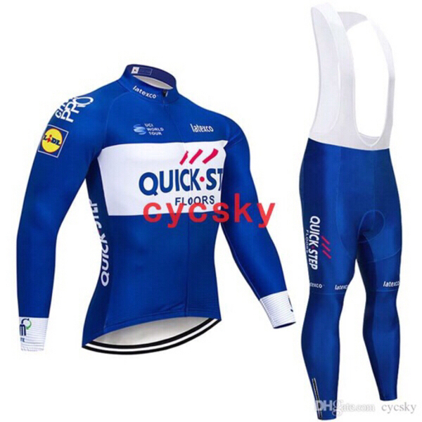 Used Cycling Suit / Quick Step/Large in Dubai, UAE
