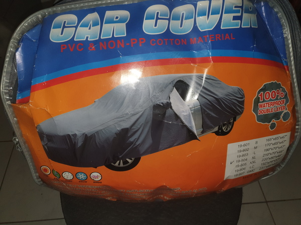 Used XL Car cover BRAND NEW NEVER USED in Dubai, UAE