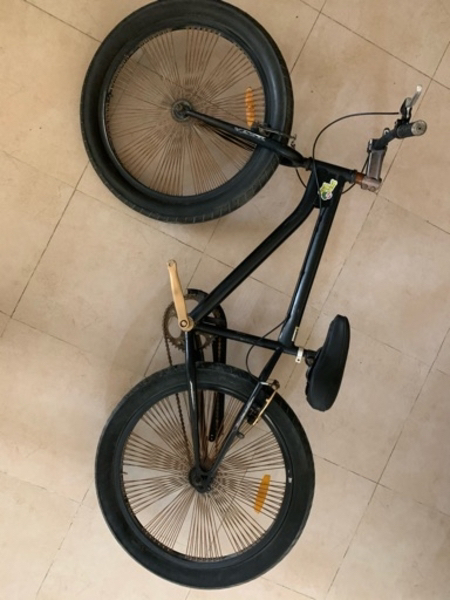 """Used BMX bicycle 24-26"""" fat with fat tire in Dubai, UAE"""