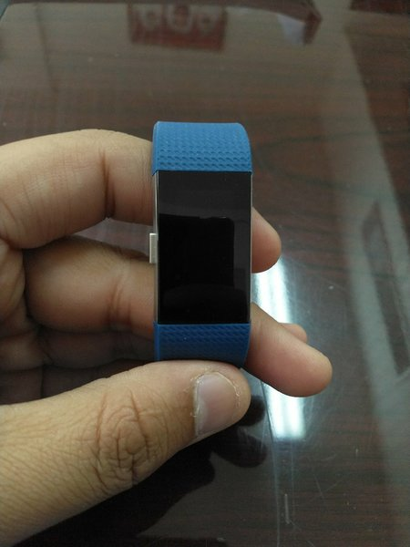 Used Fitbit Charge 2 with 2 screen protector in Dubai, UAE