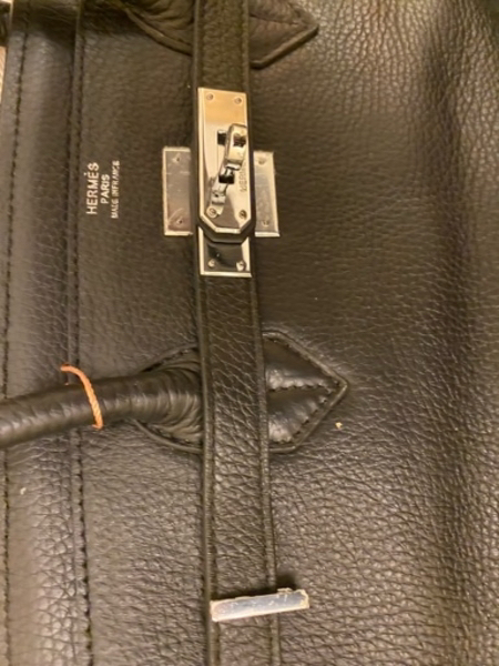 Used Hermes bag large no authentic in Dubai, UAE