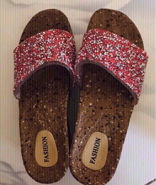 Used 2 Jelly Sandals Size-35❤️ in Dubai, UAE