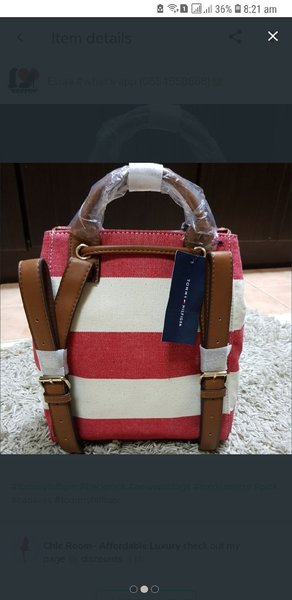Used Tommy hilfiger backpack authentic new in Dubai, UAE