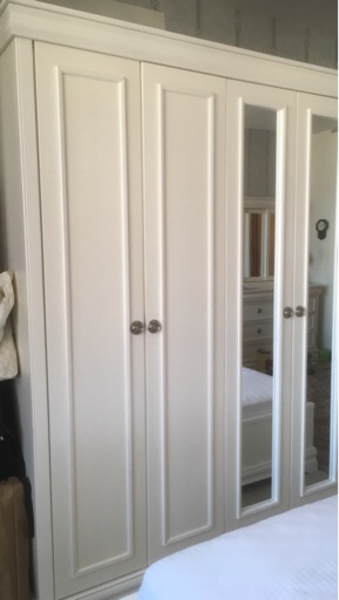 Used 6 door wardrobe from Home Centre. in Dubai, UAE