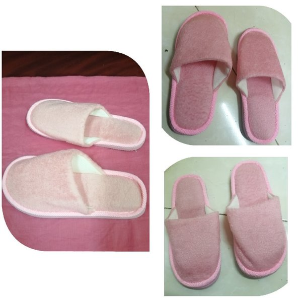 Used 3 pairs of Deluxe Fluffy Fleece Slippers in Dubai, UAE