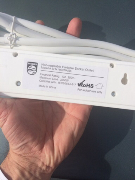 Used 2 nos. Philips Wire Extension. Brand new in Dubai, UAE