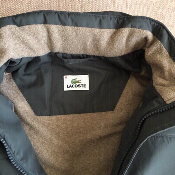 Used Lacoste Kids Jacket Size 6 original  in Dubai, UAE