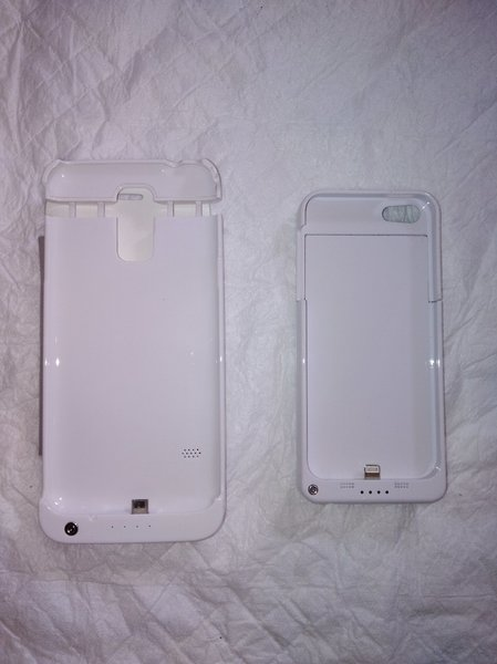 Used iPhone/Samsung power bank case in Dubai, UAE
