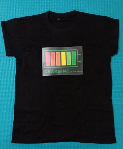 Used T shirt sound activated led lights in Dubai, UAE