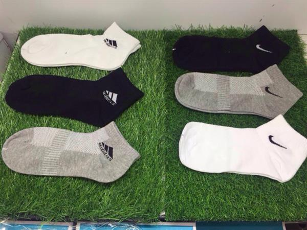 Used 12 Pairs Of Adidas And Nike Mix Sports Socks. Best Deal. in Dubai, UAE