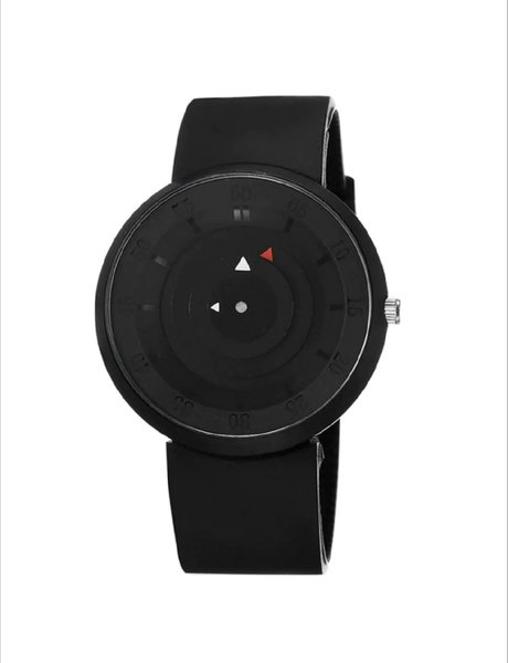 Used Quality men's watch unique design black in Dubai, UAE