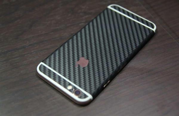 Used Iphone 6 And 6s Carbon Fiber With Cut For Antenna   in Dubai, UAE