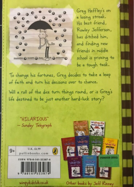 Used Wimpy kid hard luck in Dubai, UAE