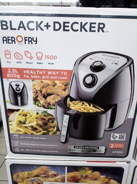 Used Air Fryer Black & Decker Brandnew in Dubai, UAE