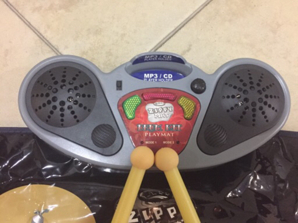Used Zippy Mat Drum Kit in Dubai, UAE