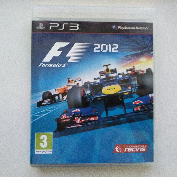 Used F1 2012 for PS3 - used in Dubai, UAE