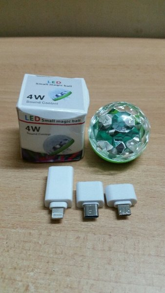 Used USB Magic Ball (Disco Light) in Dubai, UAE