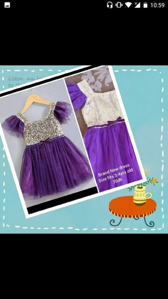 Used Brand New dress size 120/3t in Dubai, UAE