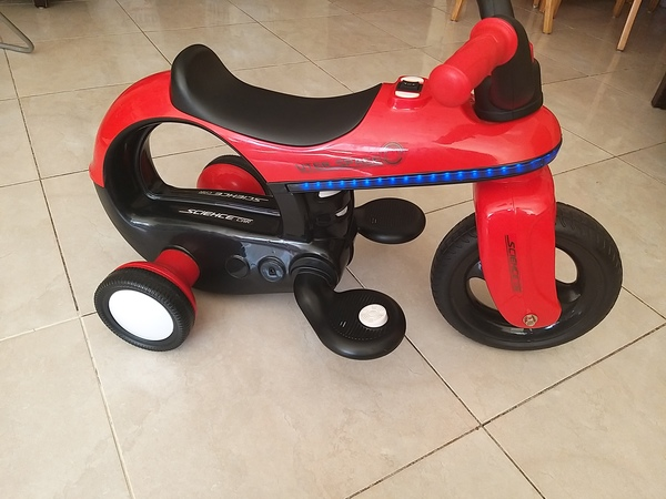 Used Red Motor with Lights & Music in Dubai, UAE