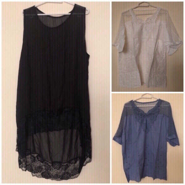 Used NEW💥 2pcs Blouses Size 5XL + + in Dubai, UAE