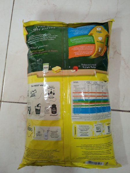 Used Nido milk 2250 kg in Dubai, UAE