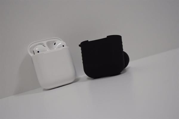 Used Cover For AirPods Black  in Dubai, UAE