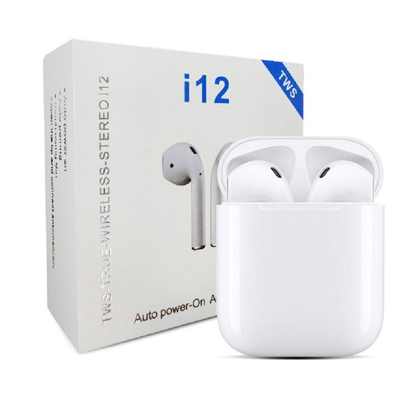 Used I12 Bluetooth wireless Earphones sealed in Dubai, UAE