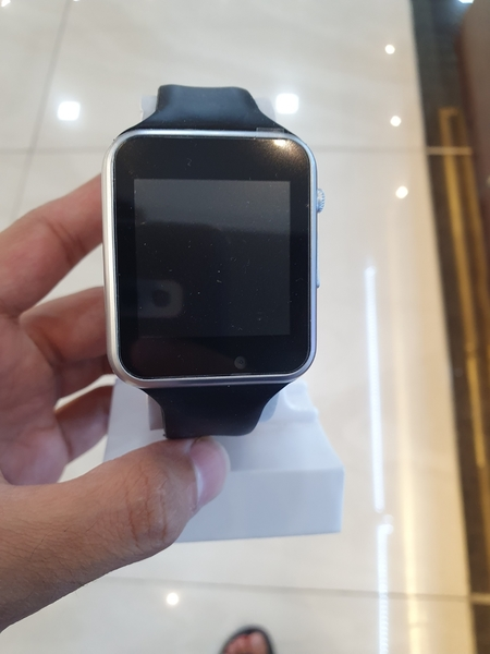 Used ..smart . Watch silver .new. in Dubai, UAE