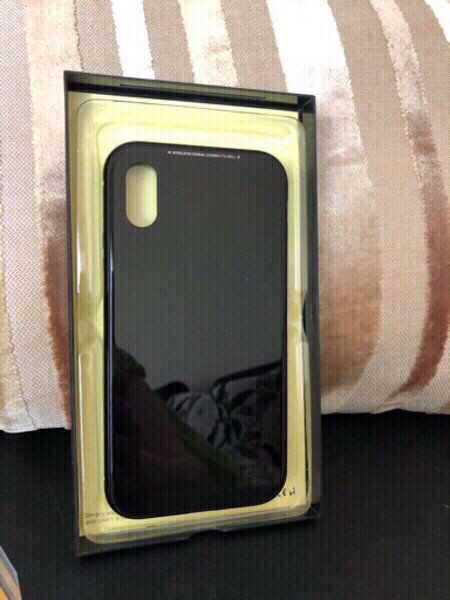 Used iPhone X cover black and 1 black/pink in Dubai, UAE
