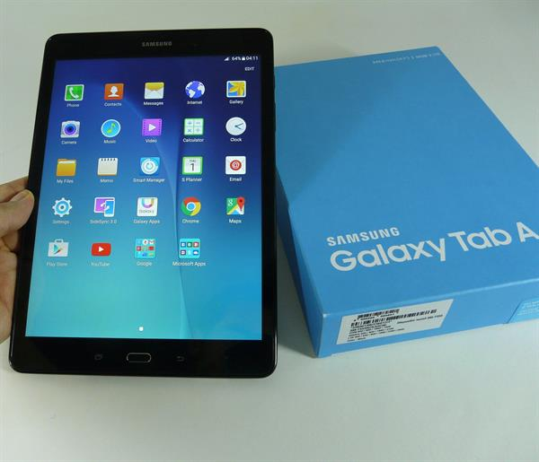 "Used Samsung Galaxy Tab A 9.7"" Black Wifi 16GB Memory 1.5GB Ram (Box Piece) in Dubai, UAE"