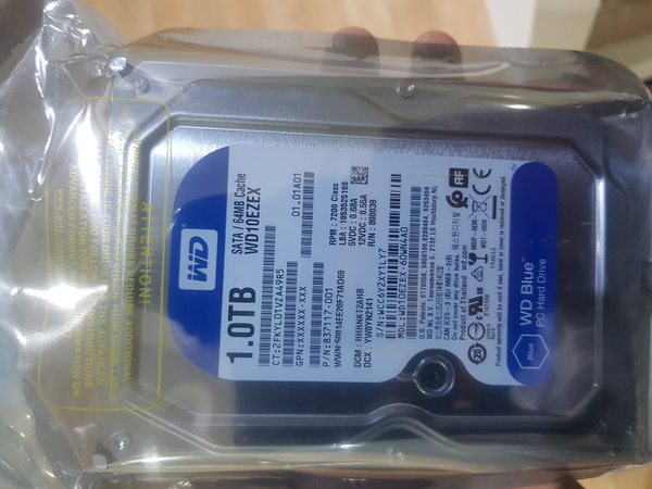 Used Wd hard drive 1 tb blue in Dubai, UAE