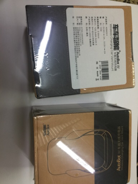 Used car wireless charger 2pc in Dubai, UAE