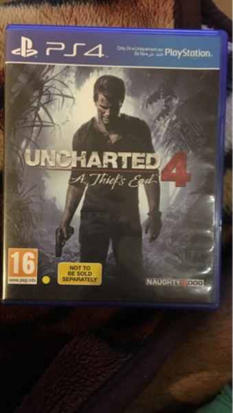 Used Ps4 game uncharted 4 in Dubai, UAE