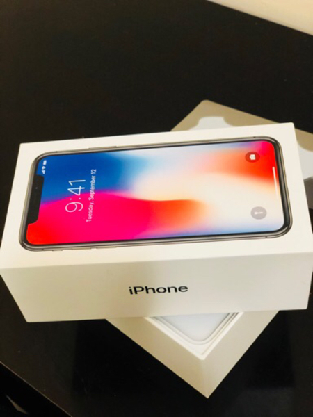 Iphone X Space Grey 256 GB