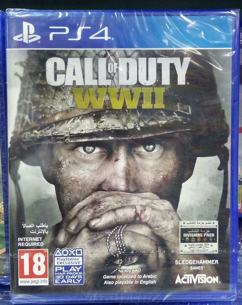 Used Ps4 game - CALL OF DUTY in Dubai, UAE