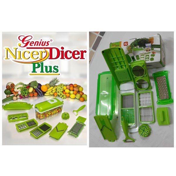 Used Vegetable cutter box 1 set in Dubai, UAE