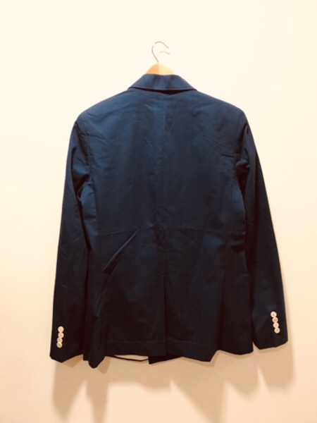 Used New HAVANA Blazer Size 50 Navy Blue. in Dubai, UAE