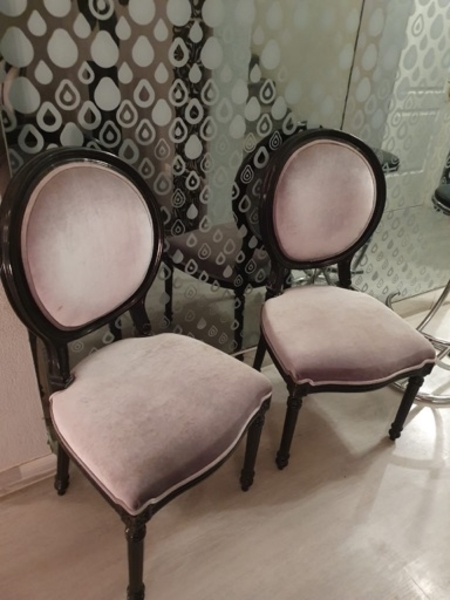Used 14 chairs with dining table in Dubai, UAE