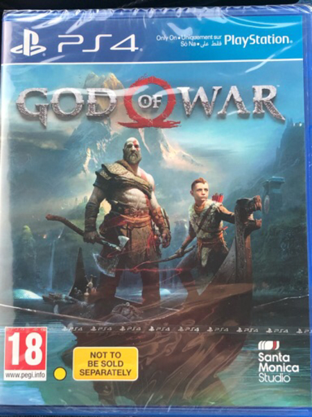 Used PS4 God of war  in Dubai, UAE