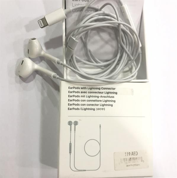 Used 100% Apple Authentic EarPods Lightning Connector, Bought Frm Dubai, With Amount AED119, Check Price On First Pic in Dubai, UAE