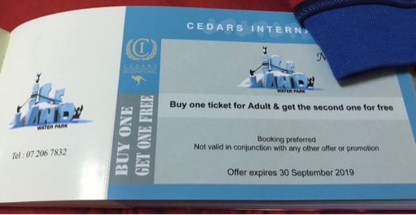 Used Ice Land Entry pass tickets  in Dubai, UAE