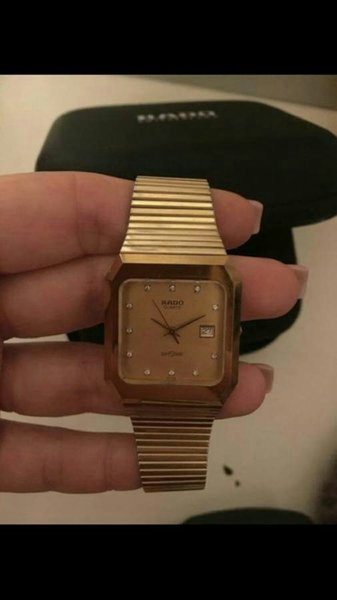 Used RADO GOLD WATCH FOR SALE in Dubai, UAE