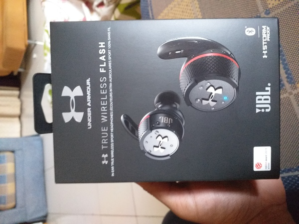 Used Jbl Underarmour TRULY wireless earbuds in Dubai, UAE