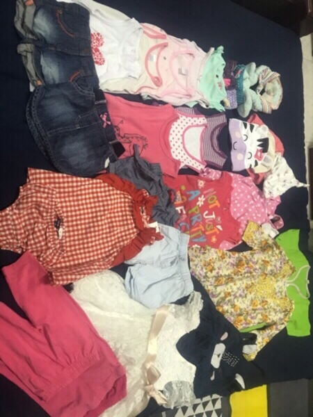 Used Baby clothes 3 to 6months (100 in Dubai, UAE