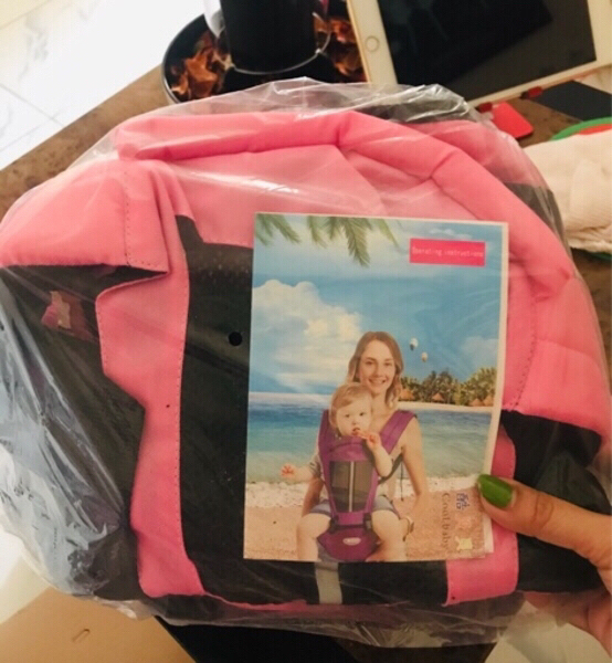 Used Baby Carrier pink ♏️ in Dubai, UAE