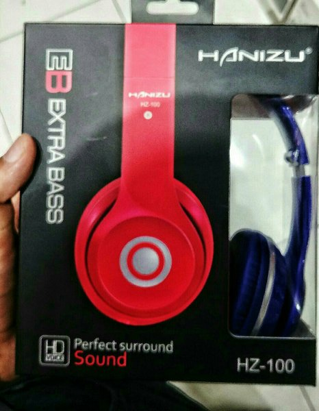 Used Hanizu Wired Headphone Mix Original New in Dubai, UAE
